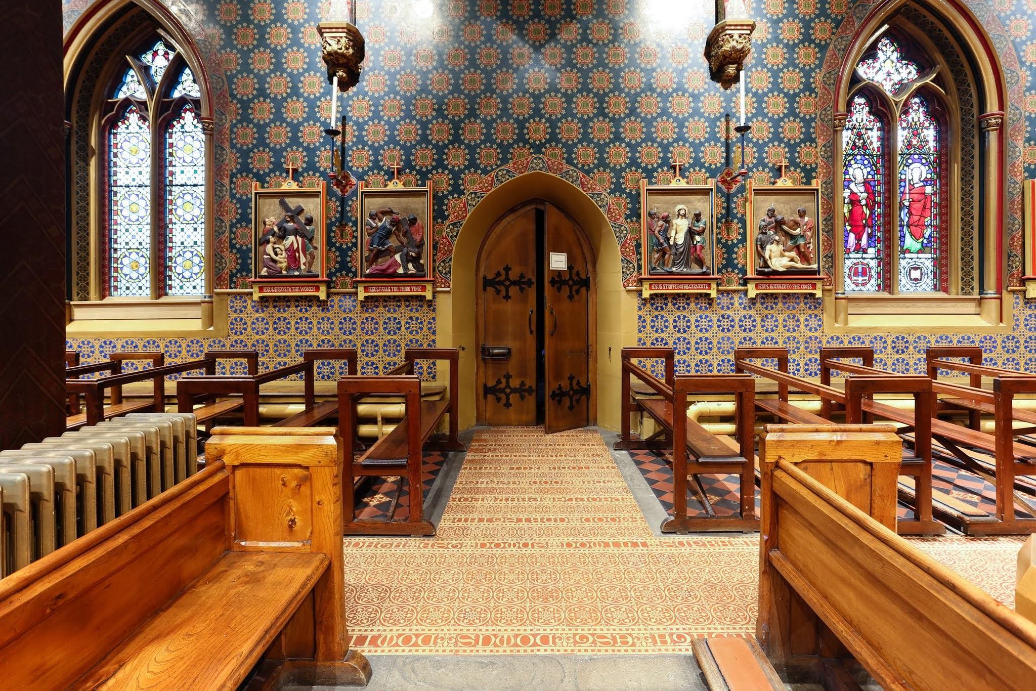 St Giles R. C. Church, Cheadle, Staffordshire - Tiles u0026 Architectural Ceramics Society (TACS)