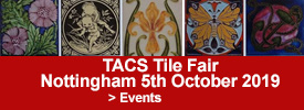 TACS  Annual Antique & Collectable Tile Fair